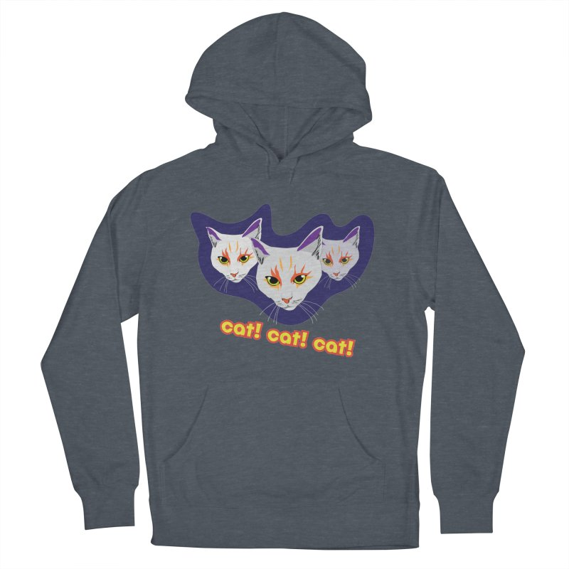 cat! cat! cat! Men's French Terry Pullover Hoody by The Pickle Jar's Artist Shop