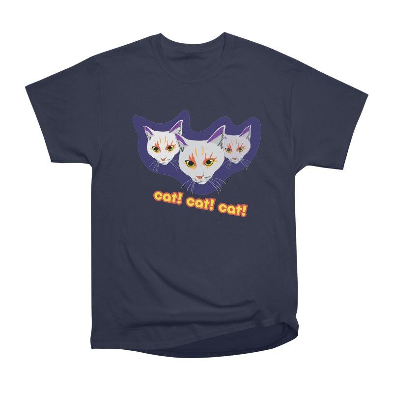cat! cat! cat! Men's Heavyweight T-Shirt by The Pickle Jar's Artist Shop