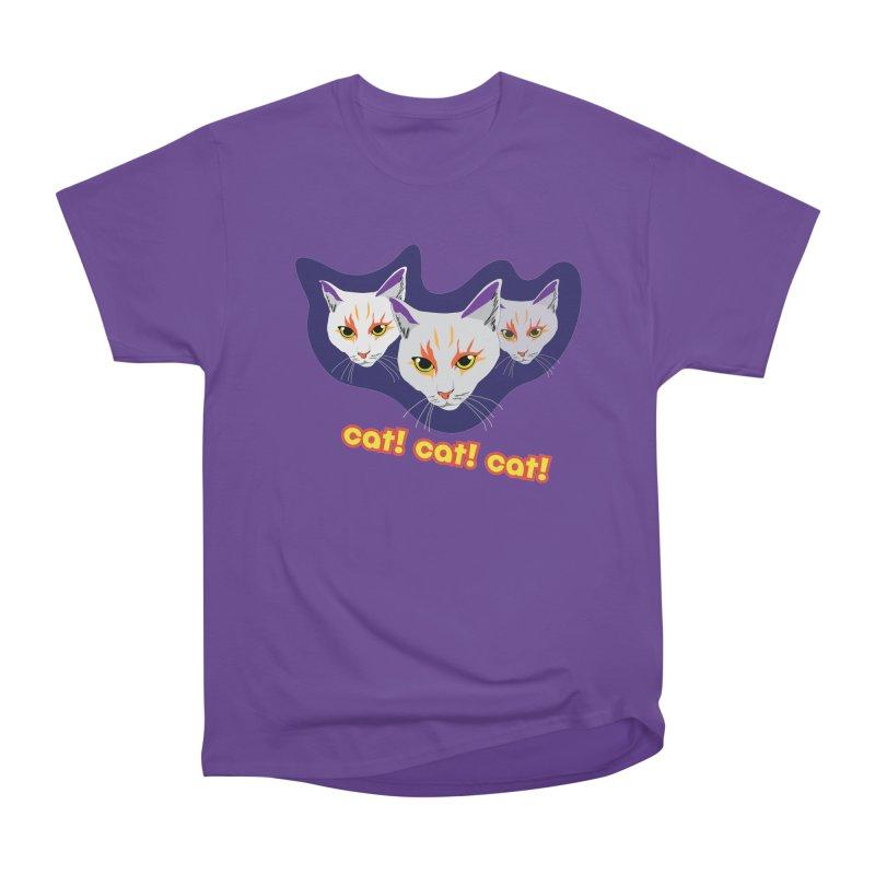 cat! cat! cat! Women's Heavyweight Unisex T-Shirt by The Pickle Jar's Artist Shop