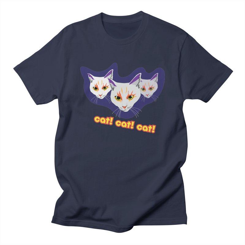 cat! cat! cat! Men's T-Shirt by The Pickle Jar's Artist Shop