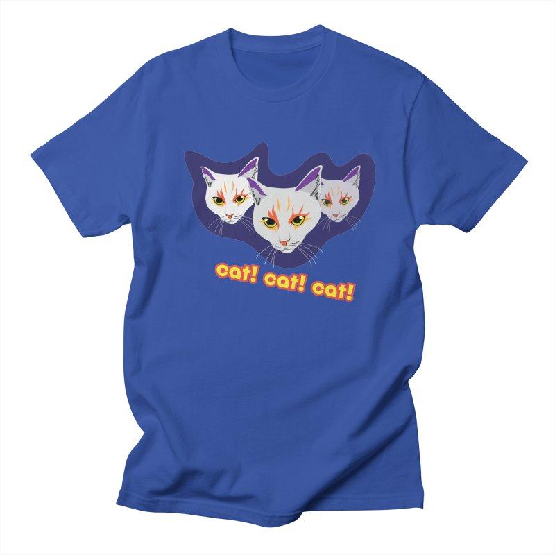 cat! cat! cat! Women's Regular Unisex T-Shirt by The Pickle Jar's Artist Shop