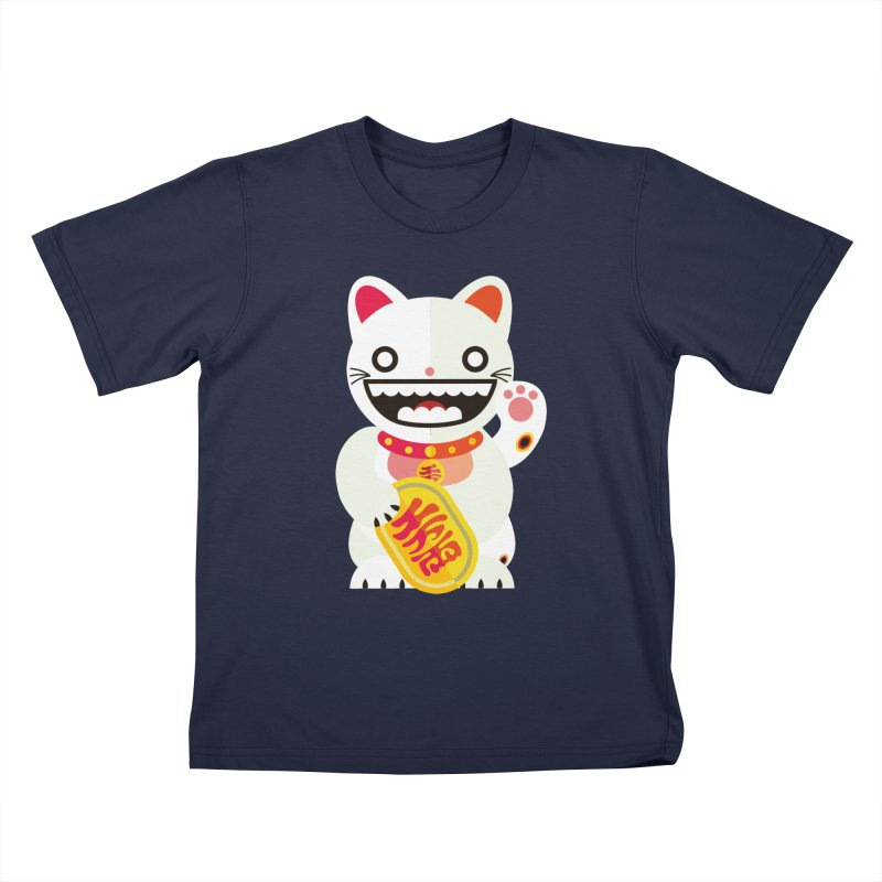 Lucky Cats for you Kids T-Shirt by libedlulo