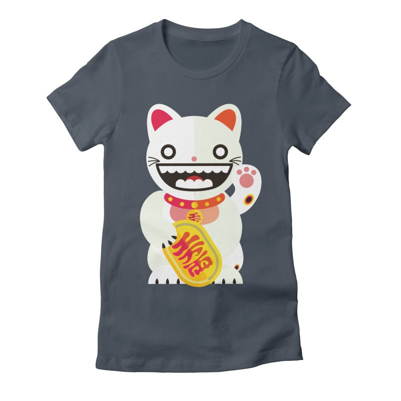 Lucky Cats for you Women's T-Shirt by libedlulo