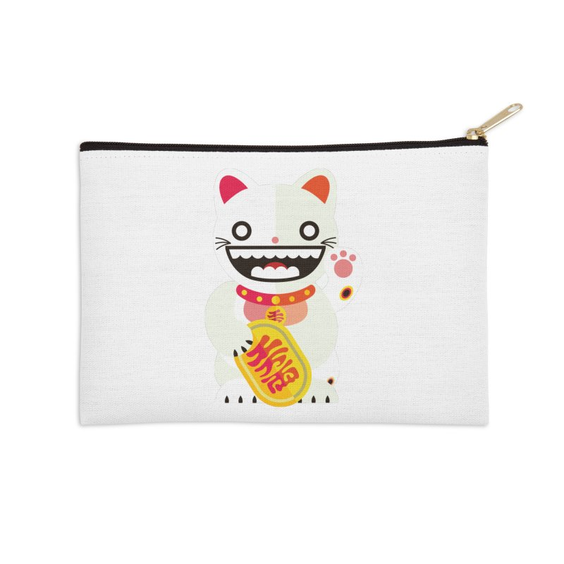 Lucky Cats for you Accessories Zip Pouch by libedlulo