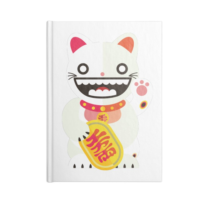 Lucky Cats for you Accessories Notebook by libedlulo