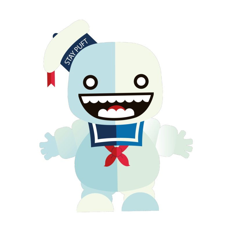 Stay Puft Man Accessories Skateboard by libedlulo