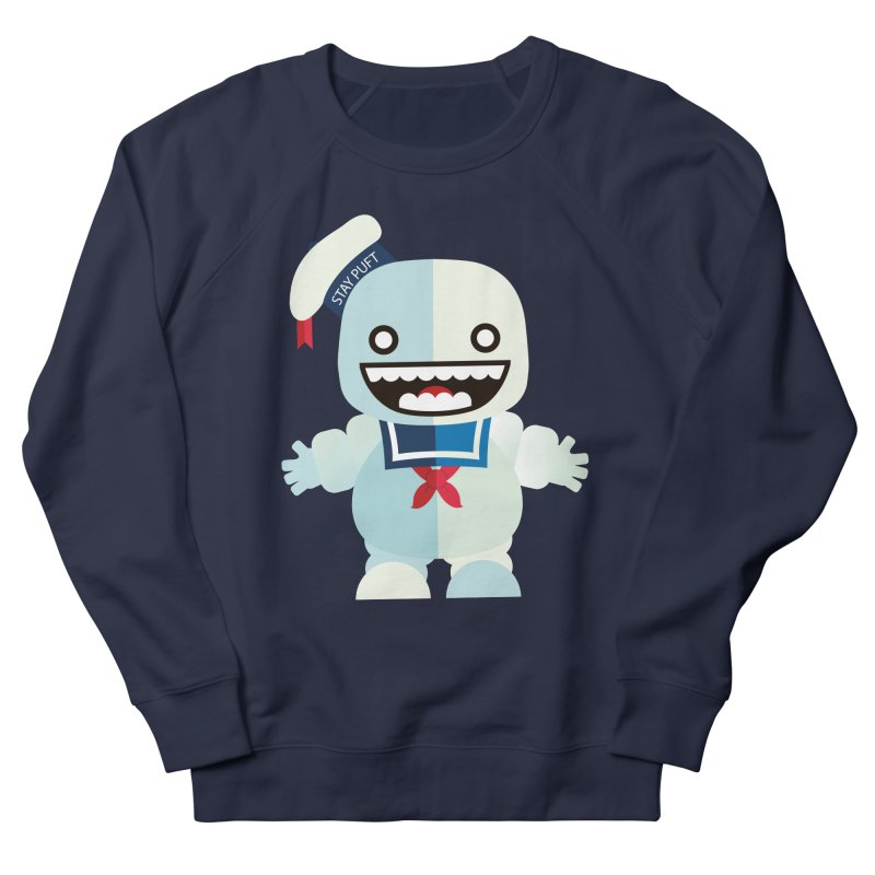 Stay Puft Man Men's French Terry Sweatshirt by libedlulo