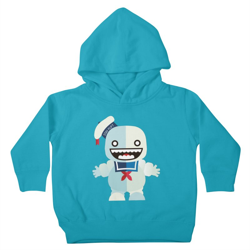 Stay Puft Man Kids Toddler Pullover Hoody by libedlulo