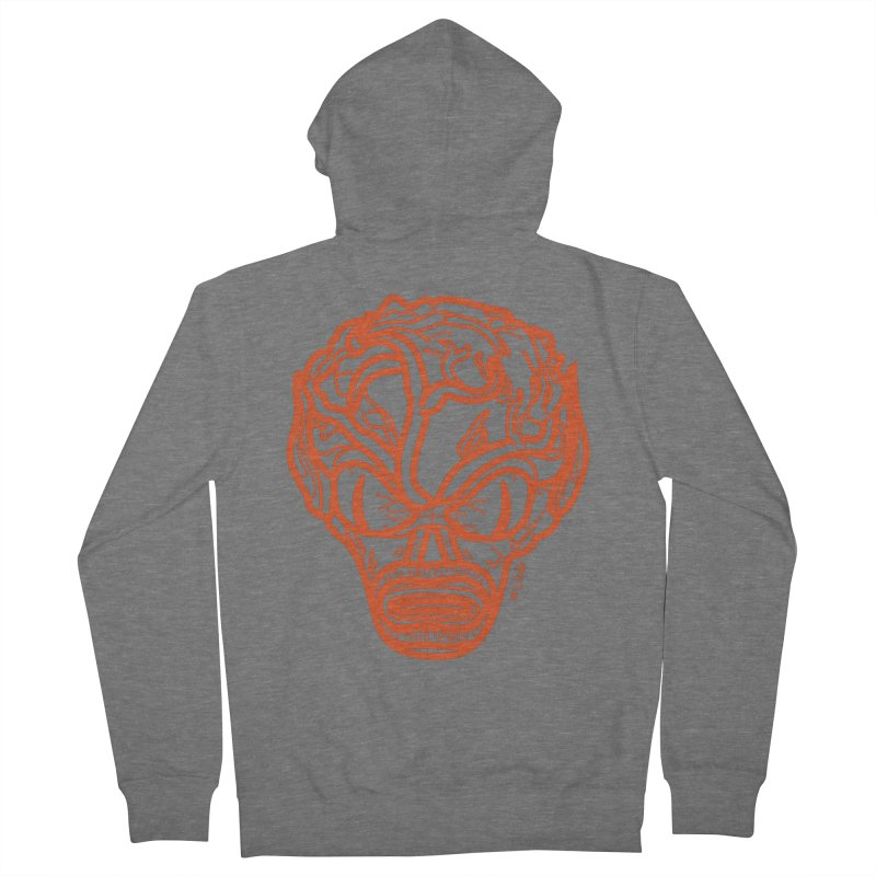Invasion of the Saucermen Women's French Terry Zip-Up Hoody by libedlulo