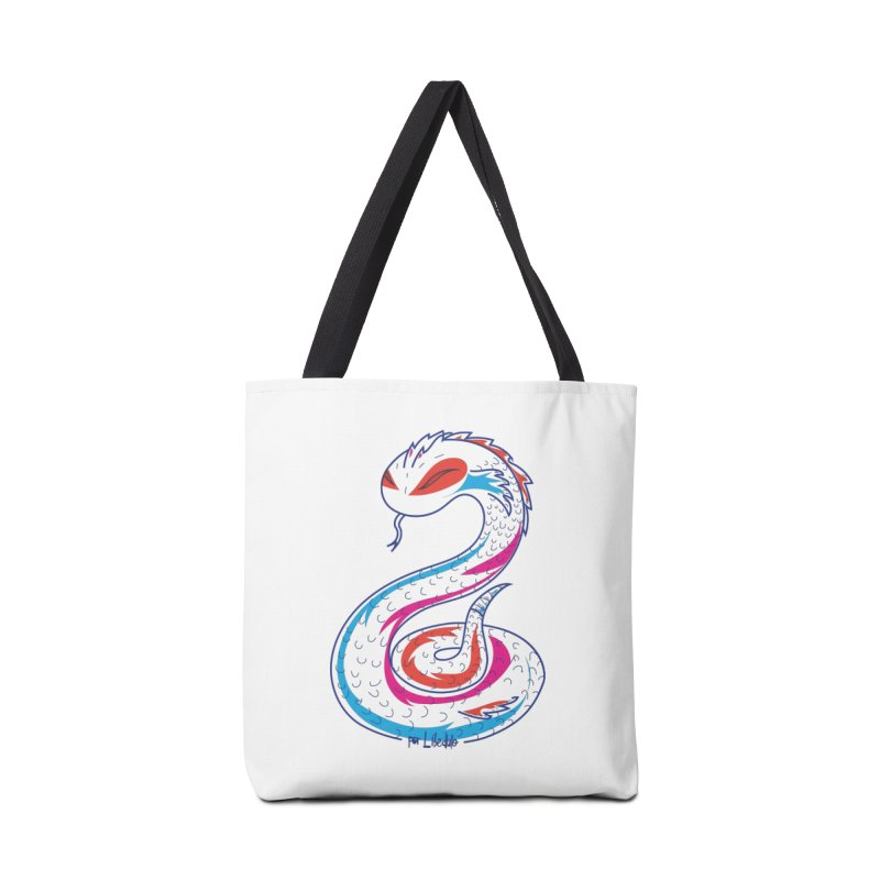 Snake Accessories Tote Bag Bag by libedlulo