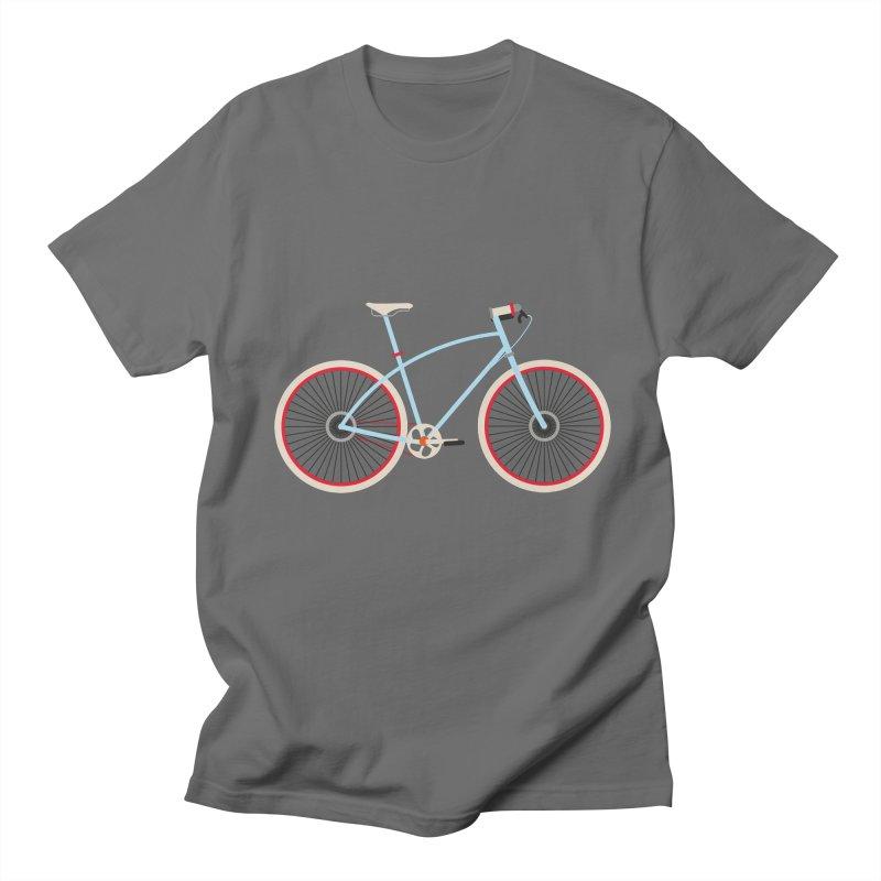 Fixie Bike Men's T-Shirt by libedlulo