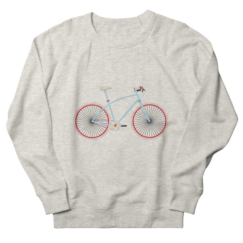 Fixie Bike Men's French Terry Sweatshirt by libedlulo