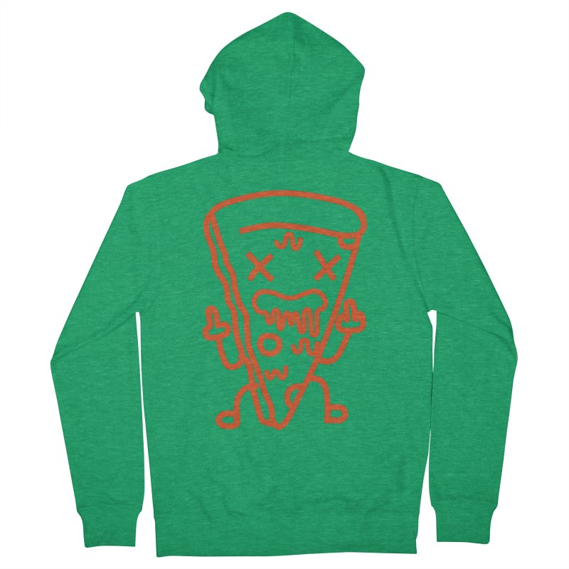 F**kn´Pizza Women's Zip-Up Hoody by libedlulo