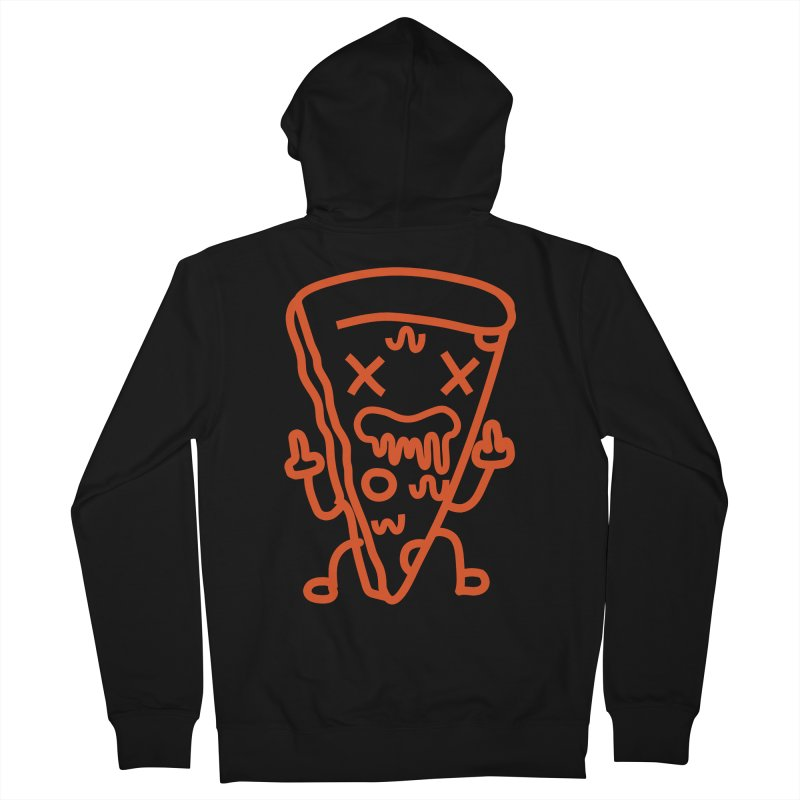 F**kn´Pizza Women's French Terry Zip-Up Hoody by libedlulo
