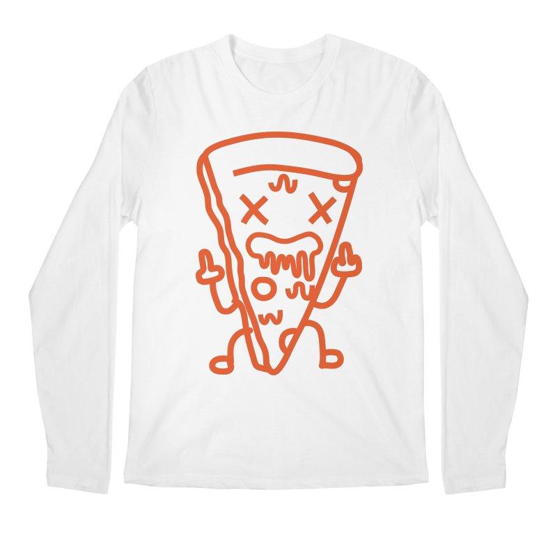 F**kn´Pizza Men's Longsleeve T-Shirt by libedlulo