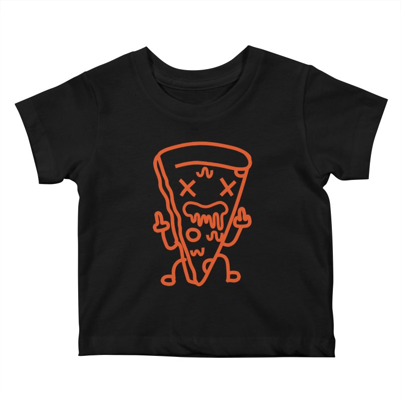 F**kn´Pizza Kids Baby T-Shirt by libedlulo