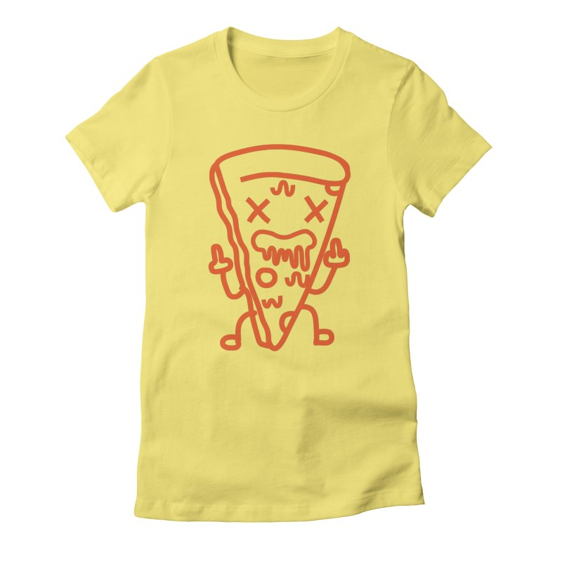 F**kn´Pizza Women's T-Shirt by libedlulo