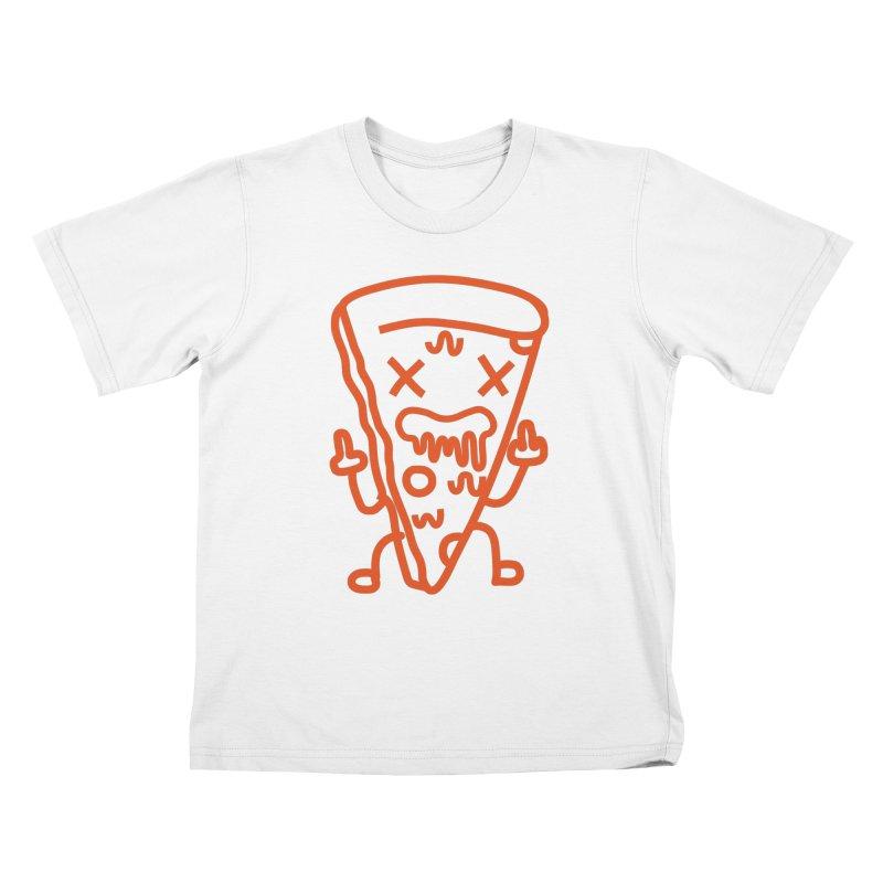 F**kn´Pizza Kids T-Shirt by libedlulo