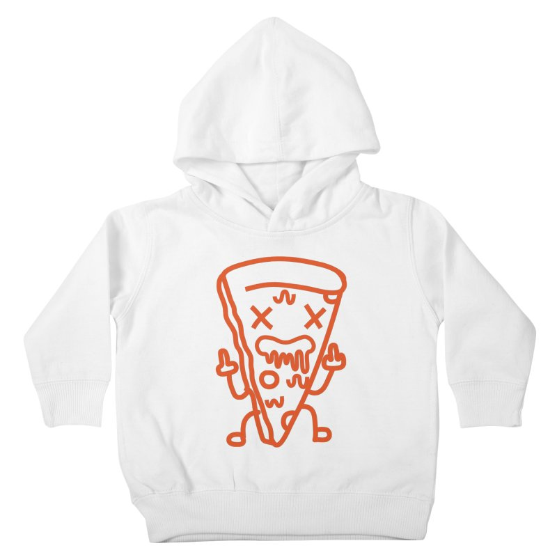F**kn´Pizza Kids Toddler Pullover Hoody by libedlulo
