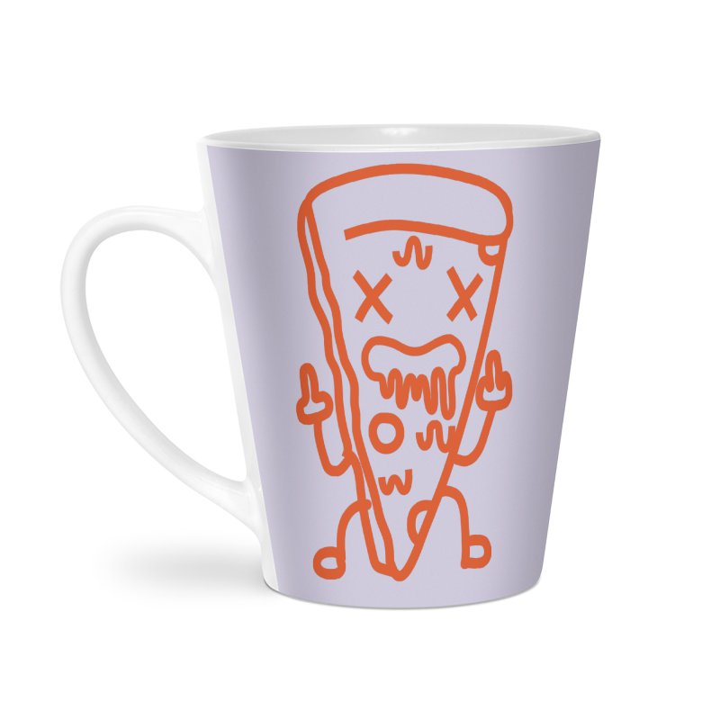 F**kn´Pizza Accessories Latte Mug by libedlulo