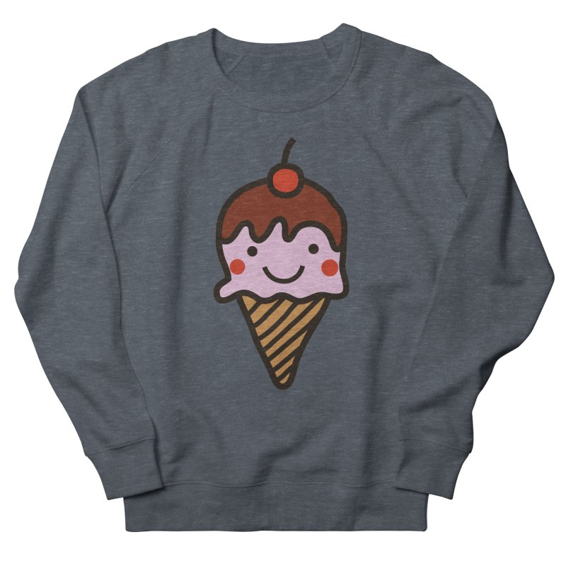 Summer Ice Cream Men's French Terry Sweatshirt by libedlulo