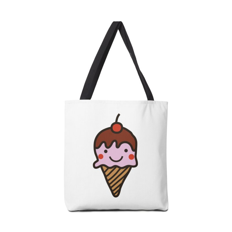 Summer Ice Cream Accessories Tote Bag Bag by libedlulo
