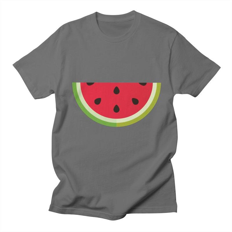 Summer Watermelon Men's T-Shirt by libedlulo