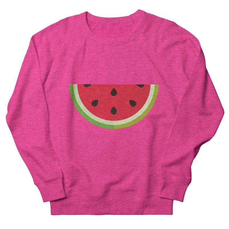 Summer Watermelon Men's French Terry Sweatshirt by libedlulo
