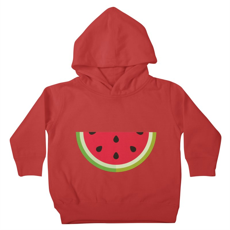Summer Watermelon Kids Toddler Pullover Hoody by libedlulo