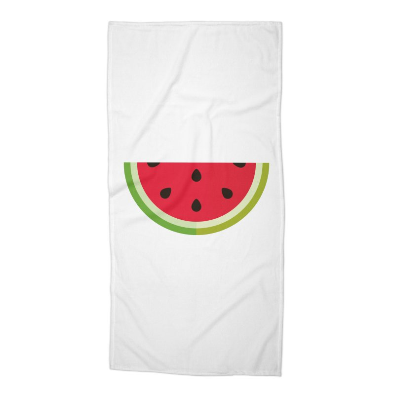 Summer Watermelon Accessories Beach Towel by libedlulo