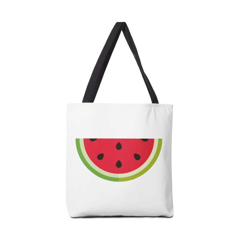 Summer Watermelon Accessories Tote Bag Bag by libedlulo