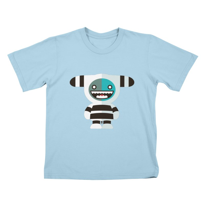 Funky Selk´nam Kids T-Shirt by libedlulo