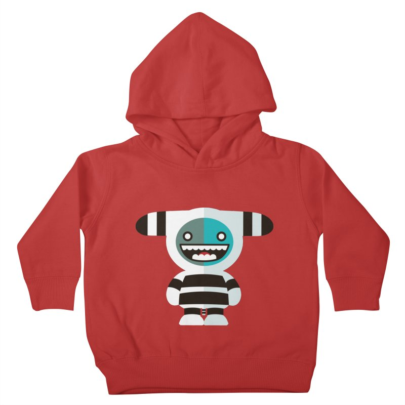 Funky Selk´nam Kids Toddler Pullover Hoody by libedlulo