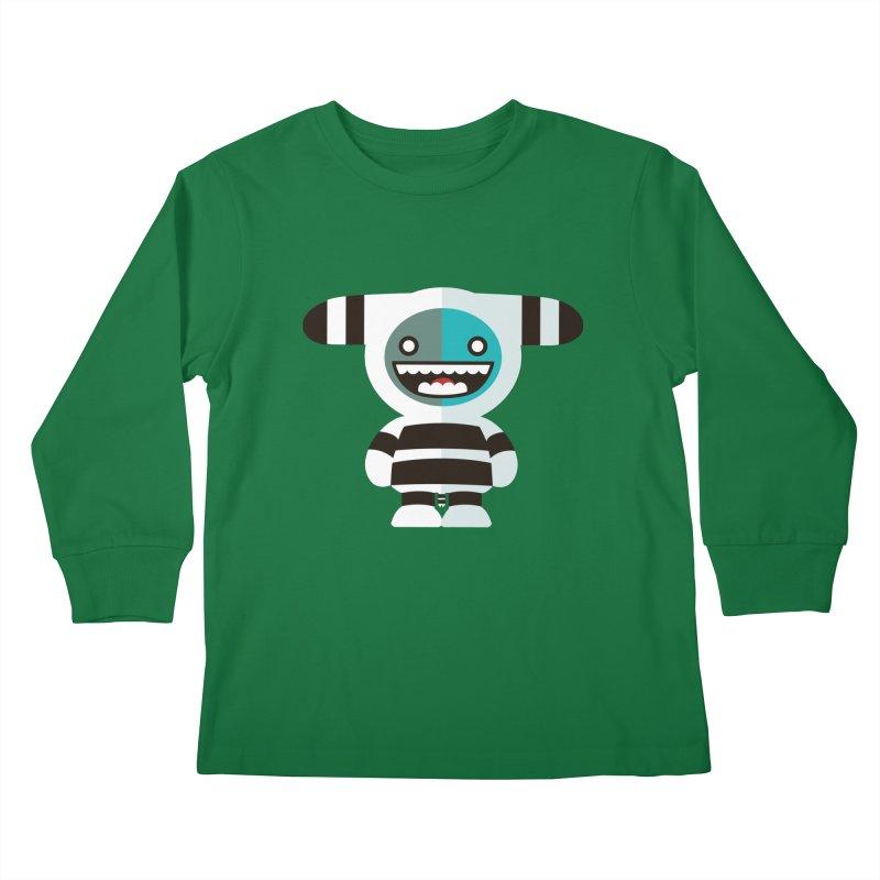 Funky Selk´nam Kids Longsleeve T-Shirt by libedlulo