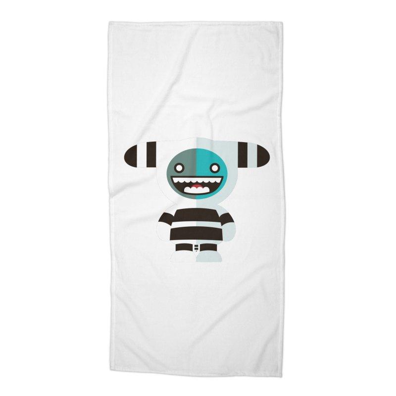 Funky Selk´nam Accessories Beach Towel by libedlulo