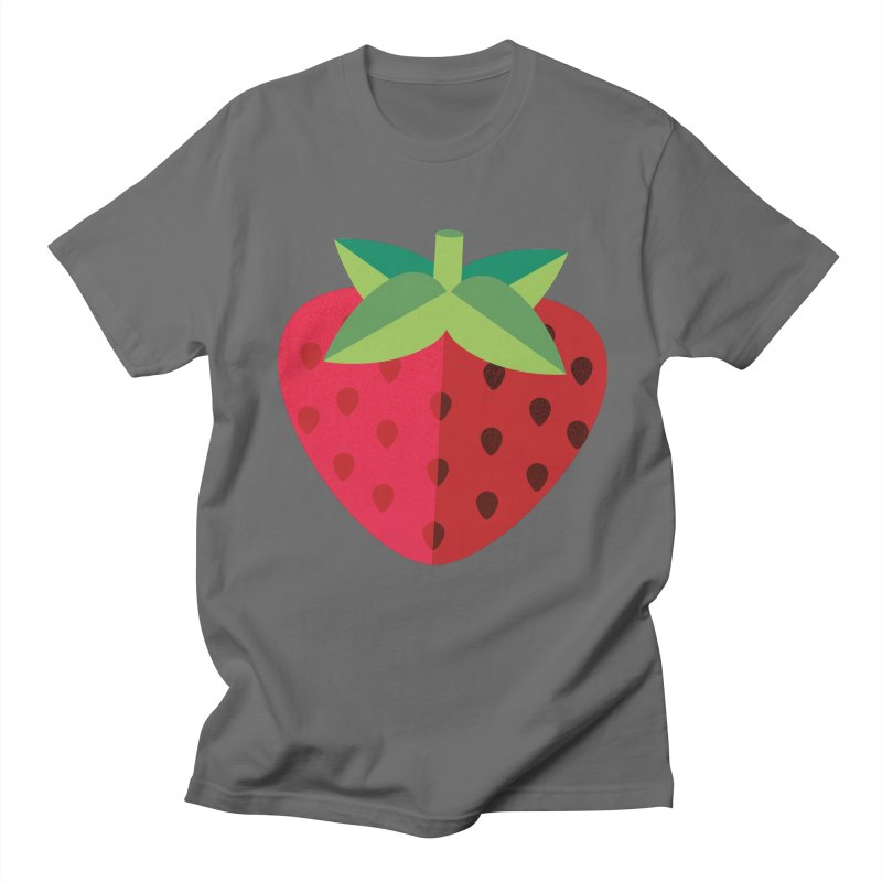 Summer Strawberry Men's T-Shirt by libedlulo