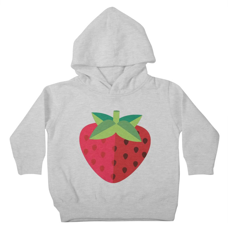 Summer Strawberry Kids Toddler Pullover Hoody by libedlulo