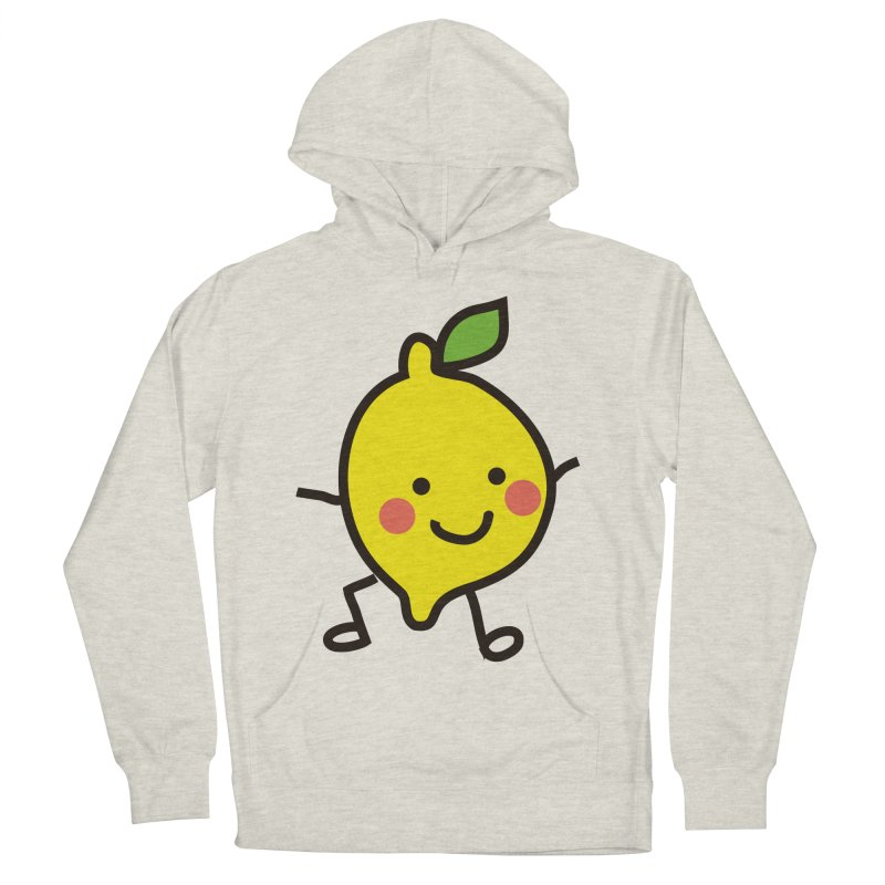 Summer Lemon Women's French Terry Pullover Hoody by libedlulo