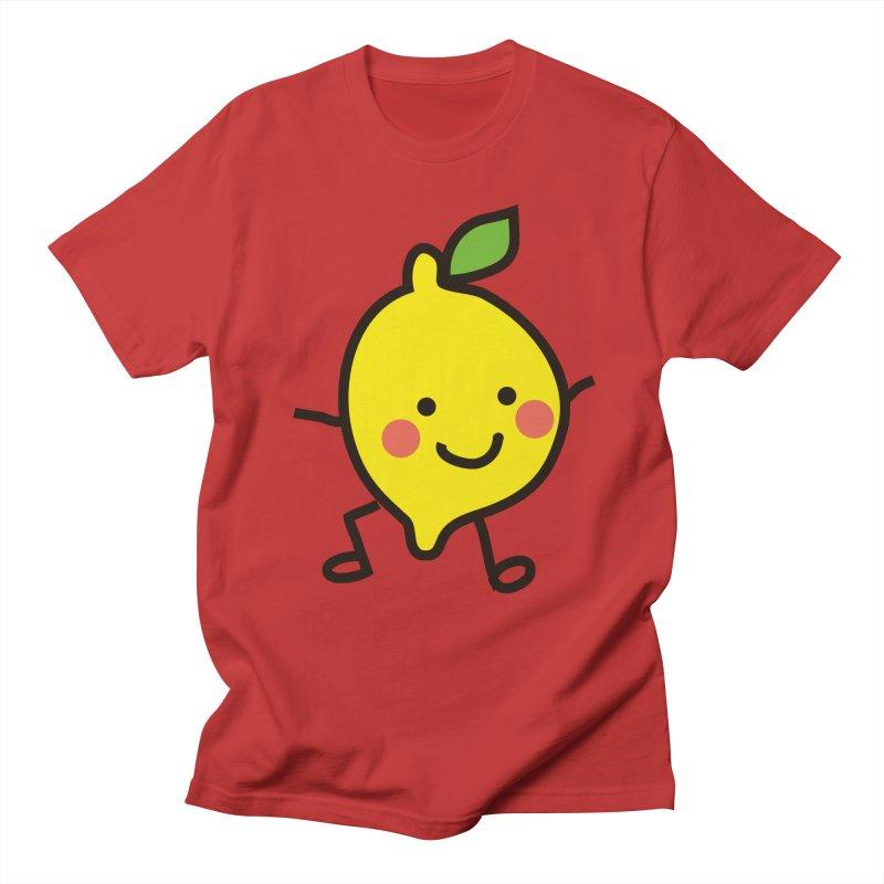 Summer Lemon Women's Regular Unisex T-Shirt by libedlulo