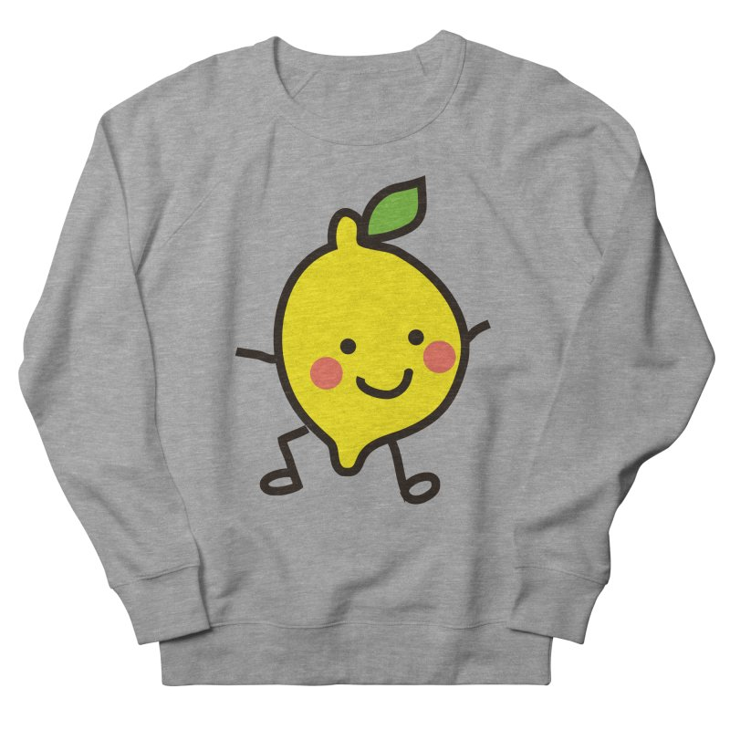 Summer Lemon Women's French Terry Sweatshirt by libedlulo