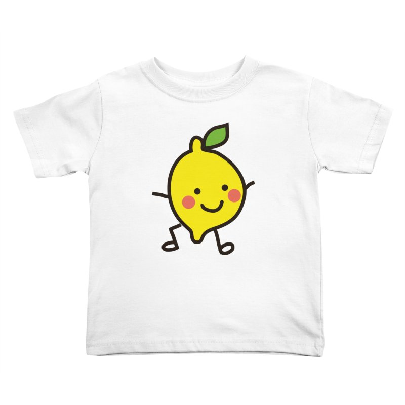 Summer Lemon Kids Toddler T-Shirt by libedlulo
