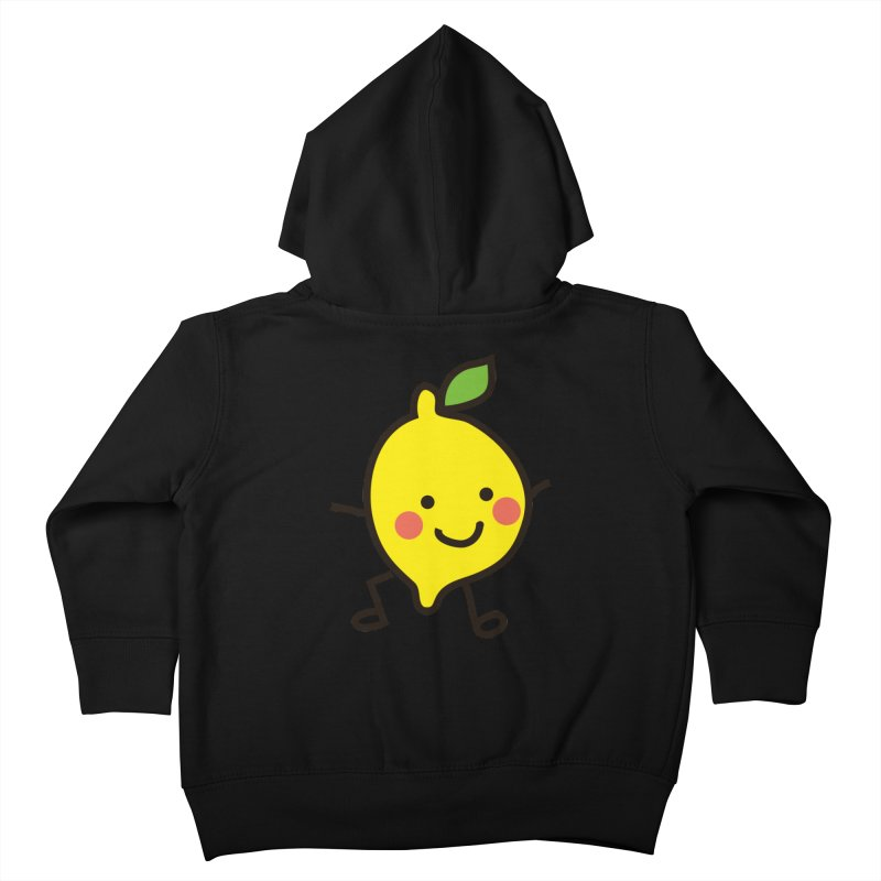 Summer Lemon Kids Toddler Zip-Up Hoody by libedlulo