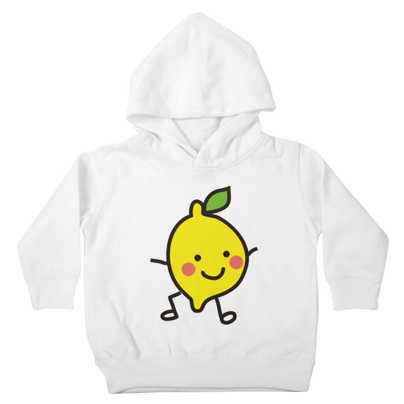Summer Lemon Kids Toddler Pullover Hoody by libedlulo