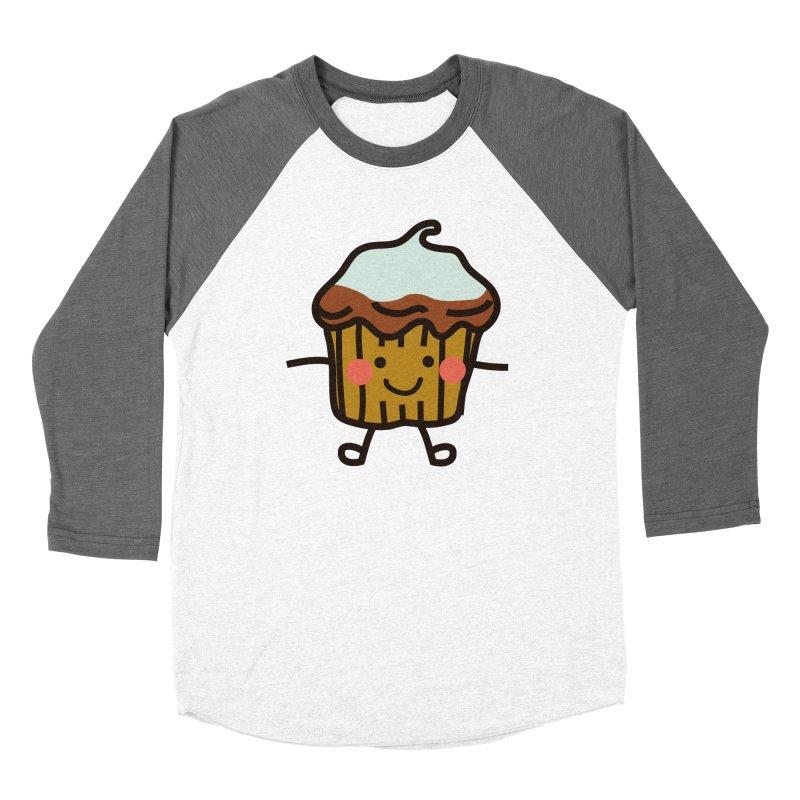 Summer Cupcake Women's Longsleeve T-Shirt by libedlulo