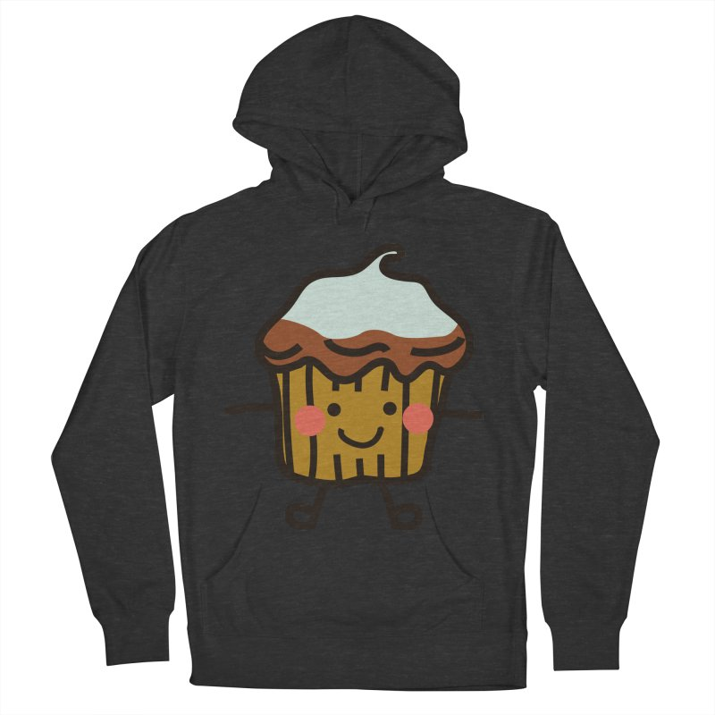 Summer Cupcake Men's French Terry Pullover Hoody by libedlulo