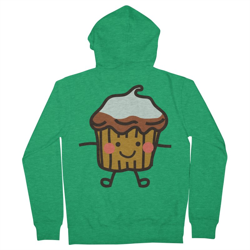 Summer Cupcake Men's Zip-Up Hoody by libedlulo