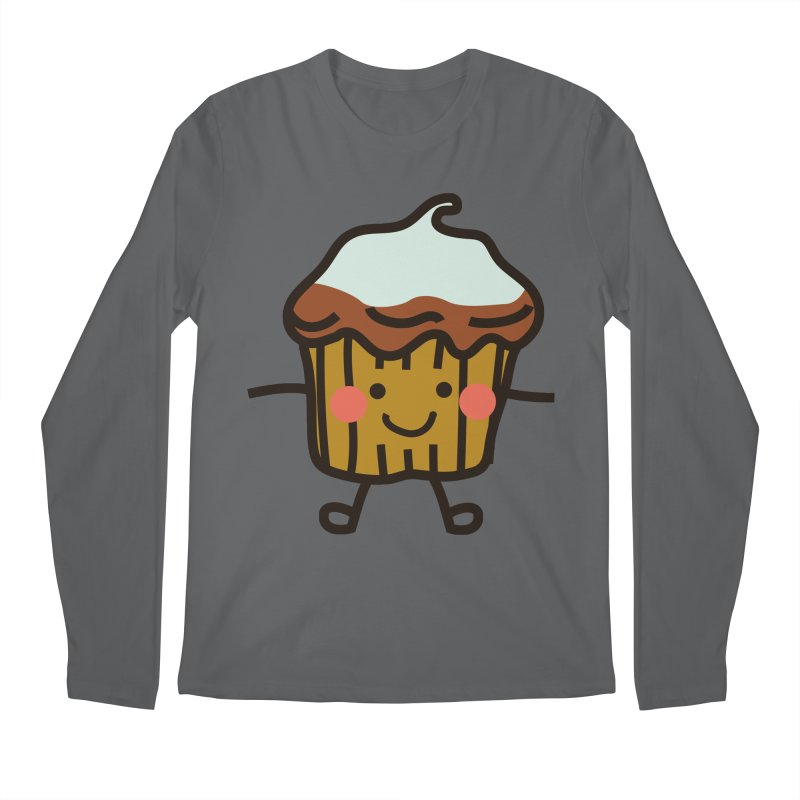 Summer Cupcake Men's Regular Longsleeve T-Shirt by libedlulo