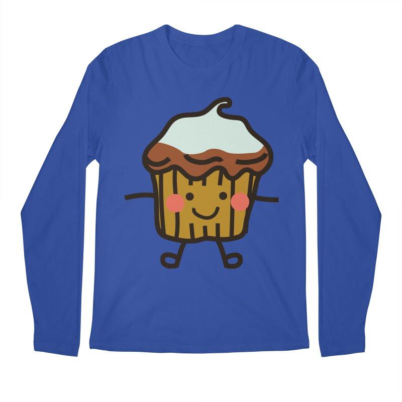 Summer Cupcake Men's Regular Longsleeve T-Shirt by libedlulo