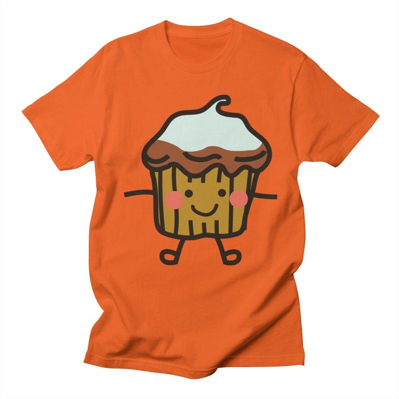 Summer Cupcake Men's Regular T-Shirt by libedlulo
