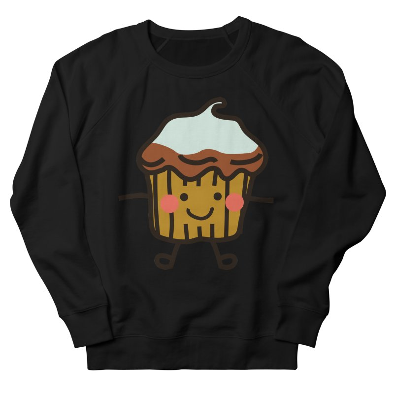 Summer Cupcake Men's French Terry Sweatshirt by libedlulo